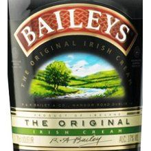 Bailey Irish Cream on the rocks