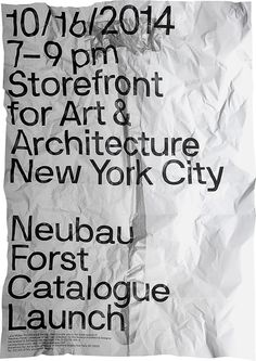 Special Limited Edition Print of NBF NYC Series, A0 on Behance