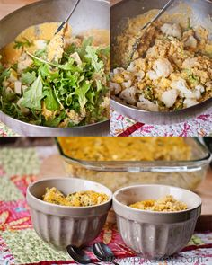 Baked cheezy quinoa casserole: gluten free, dairy free, vegan, soy free. From @pure2raw