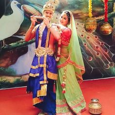 Cute duo ❤️ Pic credit :Rohan mehra  ~Team Hina