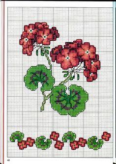 Gallery.ru / Фото #48 - Вышиваем крестом цветы, букеты, деревья - tymannost