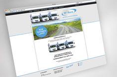 Website design for www.bfrent.fi
