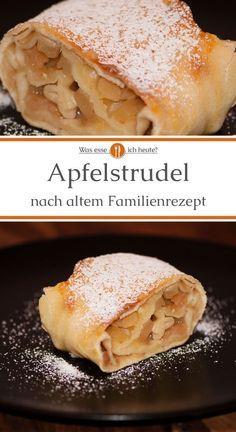 Strudel Recipes, Apple Pie Recipes, Pickled Apples, Apple Strudel, Eat Dessert First, Bread Baking, Food Videos, Food To Make, Dessert Recipes