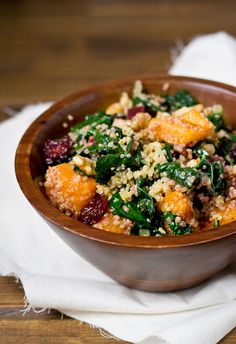 Butternut Squash, Beet, and Quinoa Salad (with ready-packaged beets & squash from Trader Joe's)