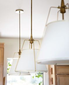 A glamour shot featuring a trio of Conical pendants? This pendant is one we see so often in your kitchen + dining designs –… Glamour Shots, Kitchen Remodel, Kitchen Dining, Pendants, Ceiling Lights, Lighting, House, Instagram, Design