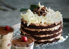 Choklad och nougattårta