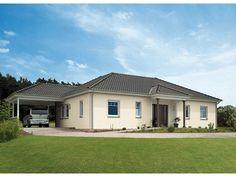Bungalow 133 - #Einfamilienhaus von Hanse Haus GmbH Vertriebsbüro Dresden   HausXXL #Fertighaus #Bungalow #klassisch #Walmdach