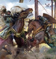 Zygmunt Rozwadowski (polish,1870-1950) Bitwa pod Grunwaldem
