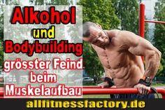 Für Sie gelesen bei: http://www.allfitnessfactory.de  Alkohol Bodybuilding grösster Feind beim Muskelaufbau  Alkohol Bodybuilding warum du übermässigen Alkoholkonsum vermeiden sollst  Wie beeinflusst Alkohol Bodybuilding mein Workout?  Warum wachse ich nicht, wenn ich nicht genug schlafe?  Wie wirkt sich der Alkohol auf meinen Hormonhaushalt aus?  German Deutsch  http://www.allfitnessfactory.de/alkohol-bodybuilding/