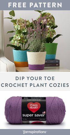 Macrame Patterns, Easy Crochet Patterns, Free Crochet, Knit Crochet, Crochet Classes, Crochet Projects, Super Saver, Crochet For Beginners, Plant Holders