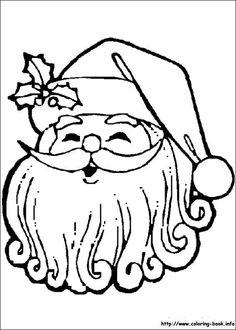 Retro Santa Coloring Page   Christmas JOY...Snowman Kisses ...