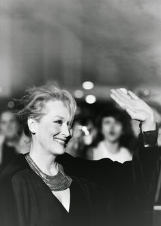 Meryl Streep in London