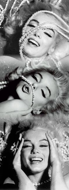 "Marilyn Monroe for ""Diamonds Are A Girl's Best Friend""...Tara Fine Jewelry Company, Atlanta."