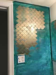 Mermaid bathroom by yours truly