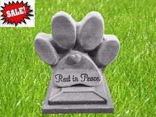 Pet Memorial dog paw stepping stone mold plaster Concrete Mold Best Seller 2 Pc …