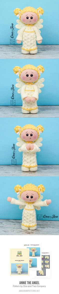Annie the Angel amigurumi pattern