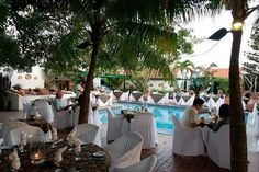 papiamento. aruba. went here the first night of our honeymoon.