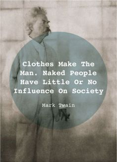 The way a man dresses makes a giant difference in how he is preceived and treated. Same truth for a woman.