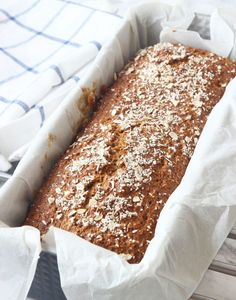 Snabb mjölfri limpa – Lindas Bakskola Gluten Free Recipes, Bread Recipes, Low Carb Recipes, Fresh Bread, Bread Baking, Food For Thought, Dairy Free, Dessert Recipes, Food And Drink