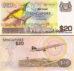 Singapore Old $20 note which is no longer in circulation. -@karen_fu