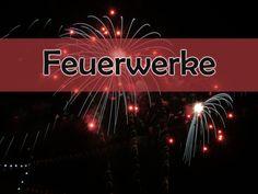 #Feuerwerke sind etwas atemberaubendes. Tolle Feuerwerke wollen wir mit euch teilen!