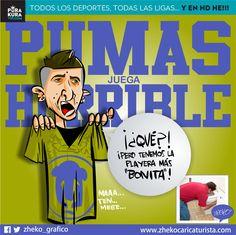 "#ElCartonDelDia para @PurakuraWeb""PUMAS HORRIBLE"" @PumasMX#Pumas #Pikolin"
