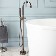 tub fillers for freestanding tubs. Nerin Gooseneck Freestanding Tub Faucet Delta Contemporary Venetian Bronze 1 Handle Bathtub