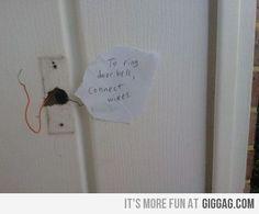Genius or Stupid Redneck Inventions ~ The door bell ~ (REMIX PLS)