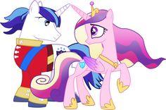 Shining Armor and Princess Cadence