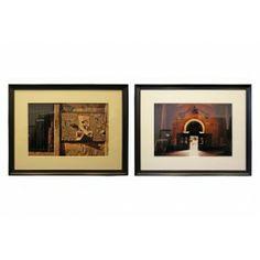 "Viyet | Luxury Furniture Consignment - Accessories - Dana Buckley Prints - ""Prayer"" and ""Tres Comandantes"""