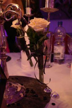 Rose im Reagenzglas