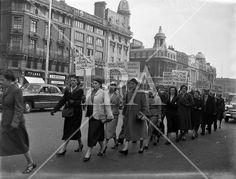 1957 - Gaeltacht protest for Harry Corduff in Mountyjoy History Photos, Photo Archive, Small Towns, More Photos, Ireland, Irish, Street View, Fine Art