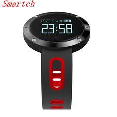 Smartch DM58 Smart Band Heart Rate Blood Pressure Watch IP68 Waterproof Sports Bracelet Smart Wristband Fitness Tracker for IOS #Affiliate
