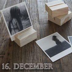 Idé: også Fotos på snor guirlande