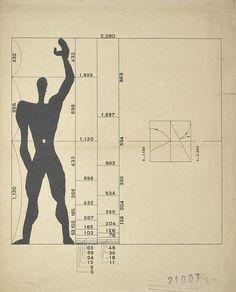 Le Modulor by Le Corbusier