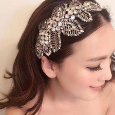 今日の撮影は#jennypackham #acacia でした 可愛くて普段つけたいくらい笑  @mico_bridal  のHPが完成しました〜よかったらのぞいて見てくださいね  #アカシア#ジェニーパッカム #ジェニーパッカムレンタル#ジェニーパッカムアカシア #プレ花嫁 #プレ花嫁さんと繋がりたい #日本中のプレ花嫁さんと繋がりたい #全国のプレ花嫁さんと繋がりたい #ドレス試着 #ヘッドドレス #ウェディングモデル #海外ウェディング #ウェディング準備 #wedding #おしゃれさんと繋がりたい #写真好きな人と繋がりたい #海外挙式 #リゾート婚 #大人女子 #大人アクセサリー #アクセサリー #美容 #美容マニア  @mico_bridal