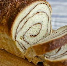 Pão Rocambole de Canela - Máquina de Pão
