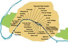 Ponts de Paris - Planete TP : tout sur les Travaux publics
