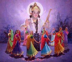 Gopi's love for Shri Krishna Krishna Lila, Jai Shree Krishna, Lord Krishna Images, Radha Krishna Pictures, Radha Krishna Photo, Radha Krishna Love, Krishna Radha, Krishna Photos, Hanuman