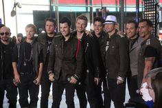 New Kids On the Block and Backstreet Boys This is what I call Amazing! Interested to know more about this