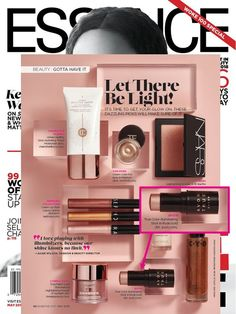 """Avon True Color Illuminating Stick in Rose Gold was featured as a """"gotta have it"""" product in the May 2018 issue of Essence magazine! Click the pic to get yours. Avon Products, Blush On Cheeks, Essence Magazine, Avon True, Avon Online, Avon Representative, Medium, True Colors, Make Up"""