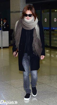 """[Scene Photo] """"Nincs szépfiú"""" ... Jang, a férfi a repülőtéren: Naver TV Szórakozás"""
