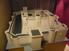 Krak des Chevaliers: A LEGO® creation by Krazy Kastle Krak Guy : MOCpages.com