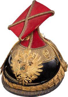 Austria: Officers' czapka of the 6th Uhlan Regiment