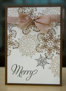 Julie's Japes - An Independent Stampin' Up! Demonstrator in the UK: Snowflake Soiree