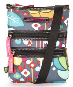 Look at this #zulilyfind! Bliss Multi-Section Crossbody Bag by Lily Bloom #zulilyfinds