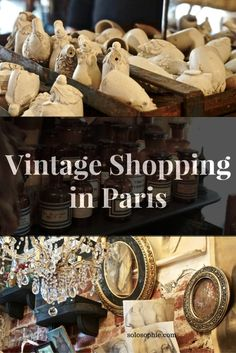 vintage shopping in paris