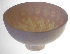 DOROTHY FEIBLEMAN BOWL 104  Soft paste porcelain, nerikomi technique