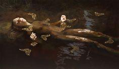 The Passage (Ophelia), 160 x 250 cm, 2015 / Markus Akesson / Markus Åkesson
