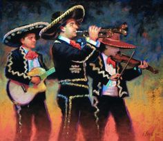 get serenaded to by a mariachi band... check!